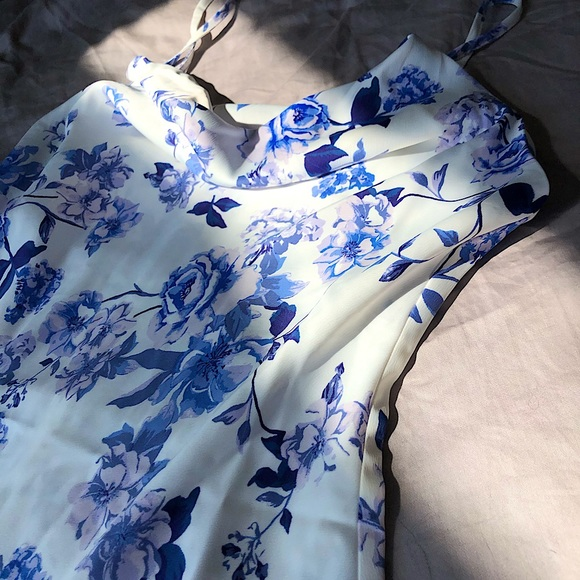 Floral Satin Urban Outfitters dress size M